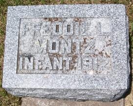 MONTZ, FREDDIE L. - Cedar County, Iowa   FREDDIE L. MONTZ