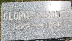 MONTZ, GEORGE P. - Cedar County, Iowa | GEORGE P. MONTZ