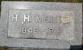 MONTZ, HIRAM HOLLIDAY - Cedar County, Iowa | HIRAM HOLLIDAY MONTZ
