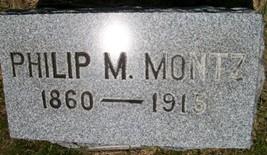 MONTZ, PHILIP MELANETHON - Cedar County, Iowa | PHILIP MELANETHON MONTZ