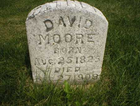 MOORE, DAVID - Cedar County, Iowa | DAVID MOORE