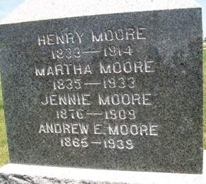 MOORE, MARTHA - Cedar County, Iowa | MARTHA MOORE