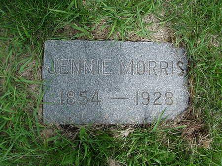MORRIS, JENNIE - Cedar County, Iowa   JENNIE MORRIS