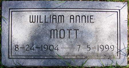 MOTT, WILLIAM ANNIE - Cedar County, Iowa | WILLIAM ANNIE MOTT