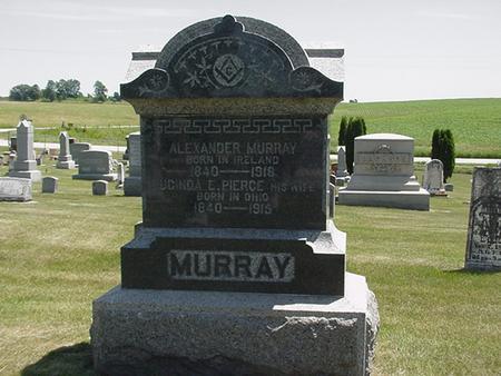 MURRAY, ALEXANDER - Cedar County, Iowa | ALEXANDER MURRAY