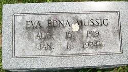 MUSSIG, EVA EDNA - Cedar County, Iowa   EVA EDNA MUSSIG