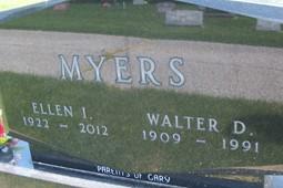 MYERS, WALTER D. - Cedar County, Iowa | WALTER D. MYERS