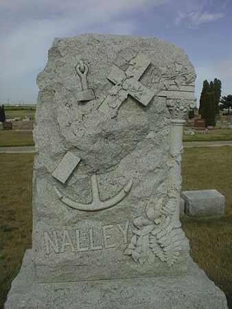 NALLEY, FAMILY MONUMENT - Cedar County, Iowa | FAMILY MONUMENT NALLEY