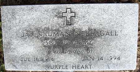 NEBERGALL, JAY NAUMAN - Cedar County, Iowa   JAY NAUMAN NEBERGALL
