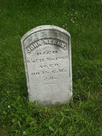 NEGUS, JOHN - Cedar County, Iowa | JOHN NEGUS