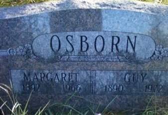 OSBORN, MARGARIT - Cedar County, Iowa   MARGARIT OSBORN