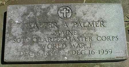 PALMER, WALTER A. - Cedar County, Iowa | WALTER A. PALMER