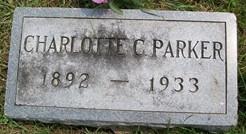 PARKER, CHARLOTTE C. - Cedar County, Iowa   CHARLOTTE C. PARKER