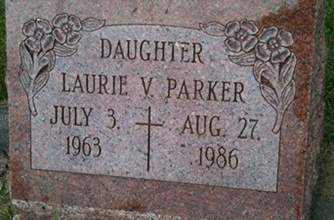 PARKER, LAURIE V. - Cedar County, Iowa   LAURIE V. PARKER