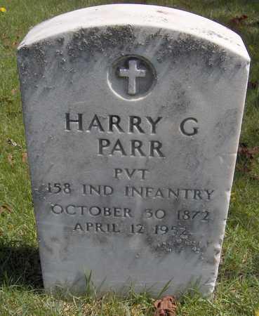 PARR, HARRY G. - Cedar County, Iowa | HARRY G. PARR