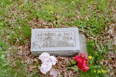 PAUL, RAYMOND - Cedar County, Iowa   RAYMOND PAUL