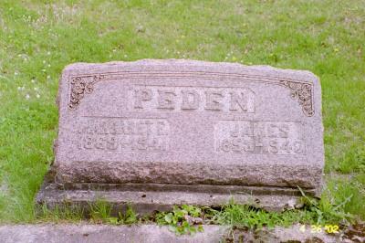 PEDEN, JAMES - Cedar County, Iowa | JAMES PEDEN