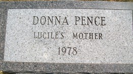PENCE, DONNA - Cedar County, Iowa   DONNA PENCE