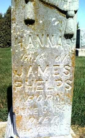 PHELPS, HANNAH - Cedar County, Iowa | HANNAH PHELPS