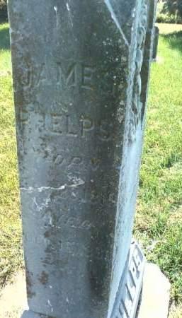 PHELPS, JAMES - Cedar County, Iowa   JAMES PHELPS