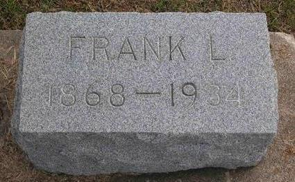 PIERCE, FRANK LYLE - Cedar County, Iowa | FRANK LYLE PIERCE