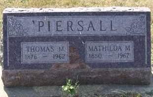 PIERSALL, THOMAS - Cedar County, Iowa | THOMAS PIERSALL