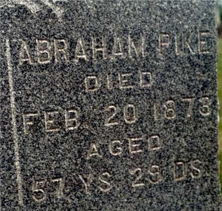 PIKE, ABRAHAM - Cedar County, Iowa | ABRAHAM PIKE