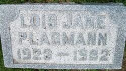 PLAGMANN, LOIS JANE - Cedar County, Iowa | LOIS JANE PLAGMANN
