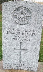 PLATE, FRANCIS H. - Cedar County, Iowa | FRANCIS H. PLATE