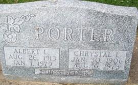 PORTER, CHRYSTAL L. - Cedar County, Iowa | CHRYSTAL L. PORTER