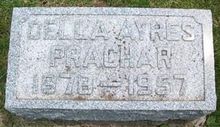 FORD PRACHAR, DELLA D. - Cedar County, Iowa | DELLA D. FORD PRACHAR