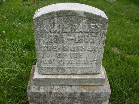 RALEY, ANN L. - Cedar County, Iowa | ANN L. RALEY