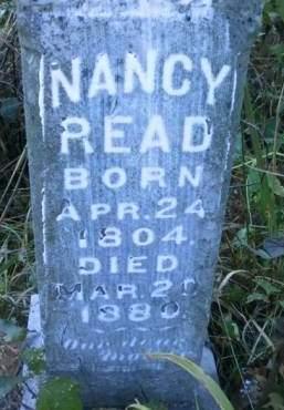 READ, NANCY - Cedar County, Iowa | NANCY READ