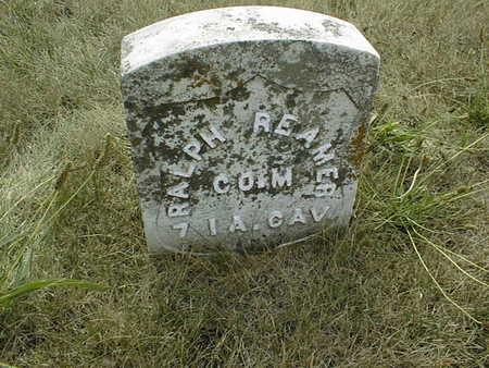 REAMER, RALPH - Cedar County, Iowa | RALPH REAMER