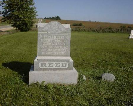 REED, JAMES AND SUSAN R. MCGEE - Cedar County, Iowa | JAMES AND SUSAN R. MCGEE REED