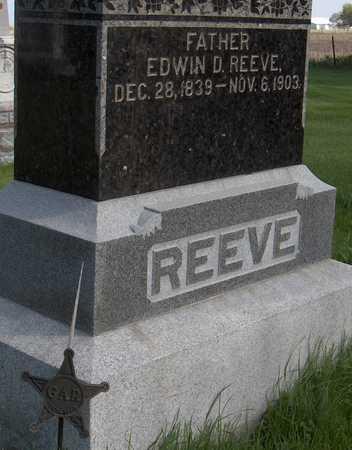 REEVE, EDWIN D. - Cedar County, Iowa | EDWIN D. REEVE