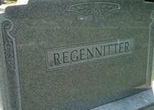 REGENNITTER, FAMILY MONUMENT - Cedar County, Iowa | FAMILY MONUMENT REGENNITTER
