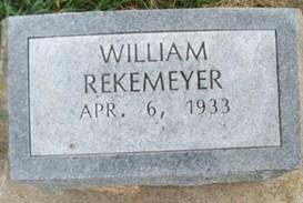 REKEMEYER, WILLIAM - Cedar County, Iowa | WILLIAM REKEMEYER