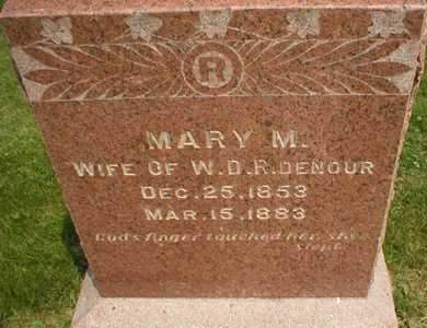 TURNER RIDENOUR, MARY MELISSA - Cedar County, Iowa | MARY MELISSA TURNER RIDENOUR