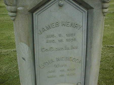 RIPLEY, JAMES HENRY - Cedar County, Iowa   JAMES HENRY RIPLEY