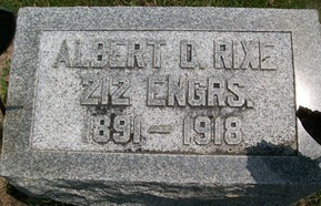 RIXE, ALBERT D. - Cedar County, Iowa | ALBERT D. RIXE