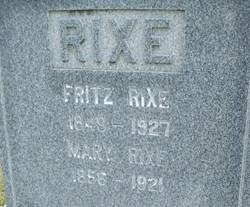RIXE, FRITZ - Cedar County, Iowa | FRITZ RIXE