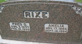 RIXE, FREDERICK D.