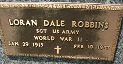 ROBBINS, LORAN DALE - Cedar County, Iowa | LORAN DALE ROBBINS