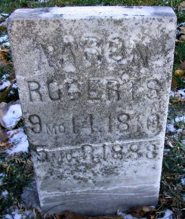 ROBERTS, AARON - Cedar County, Iowa   AARON ROBERTS