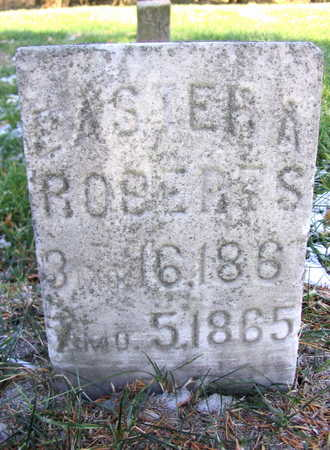 ROBERTS, EASTER A. - Cedar County, Iowa | EASTER A. ROBERTS