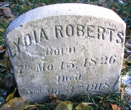 ROBERTS, LYDIA - Cedar County, Iowa | LYDIA ROBERTS