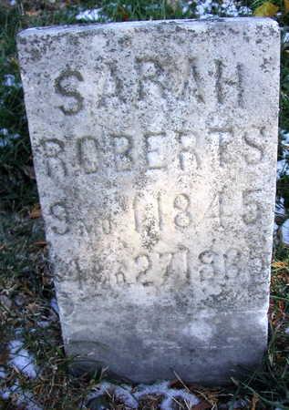 ROBERTS, SARAH - Cedar County, Iowa | SARAH ROBERTS