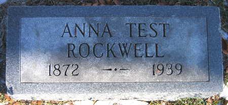 ROCKWELL, ANNA - Cedar County, Iowa | ANNA ROCKWELL