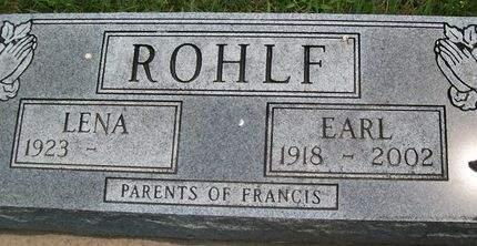 ROHLF, EARL - Cedar County, Iowa | EARL ROHLF
